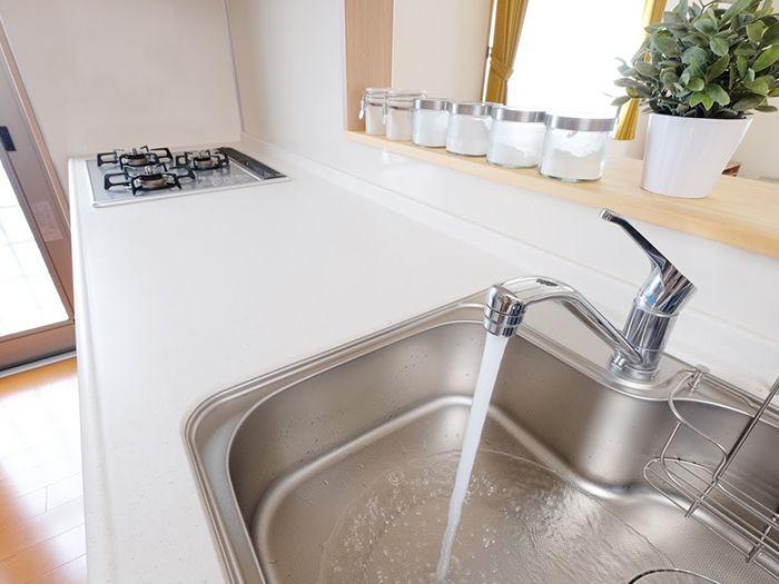綺麗な洗面台
